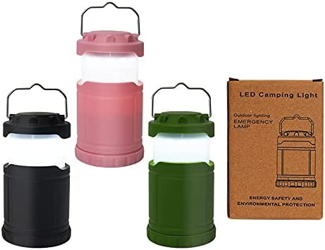 2Pack LED Camping Battery-Powered Cheap bargain Free shipping New Lanterns Power