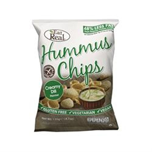 Eat Real - Hummus Chips - Creamy Dill - 135g
