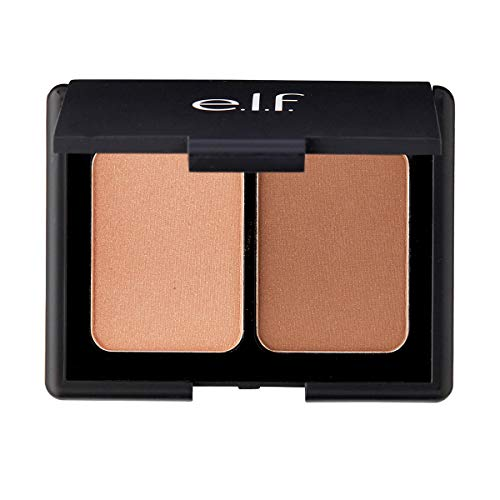 e.l.f. 83601 rubor Beige Polvo - Rubores (Beige, 2 Colores, Polvo, Bronzing, Mujeres, Mate)