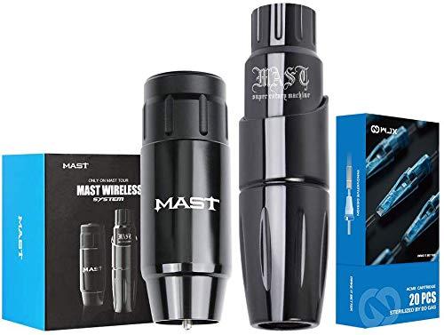 Mast Tour Rotary Pen Machine With Mast Wireless Tattoo Battery Power Supply