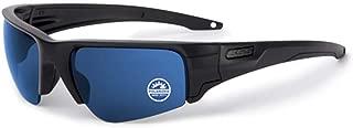 Sunglasses Crowbar Black with Polarized Blue Mirror Lens Sunglasses