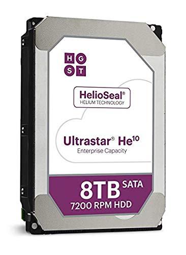 Western Digital Ultrastar He10-10TB 7200rpm 256MB 3,5 Zoll SATA600 512e ISE