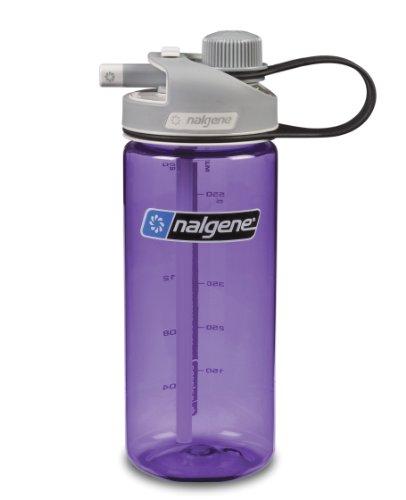 Nalgene 20-Ounce Multidrink Water Bottle, Purple