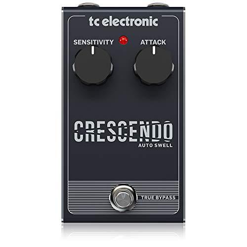 TC Electronic 000-CQ100-00010 Auto Swell Responsive Crescendo Pedal with 2-Knob Interface
