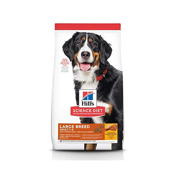 Hill's Science Diet Dry Dog Food, Adult, Large Breed, Chicken & Barley...