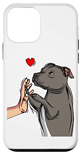 iPhone 12 mini Staffordshire Bull Terrier Love Dog Mom Girls Womens Gift Case