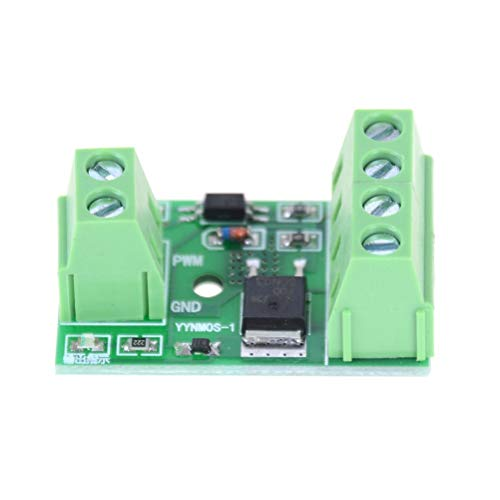 Motorcontroller - 1 stuks board Pwm Control Module 3 20V Mosfet Mos Transistor Trigger Switch Driver - Controller Board Stepper Throttle Scooter Treadmill Switch Timer Reverse Bike Tester Brushle