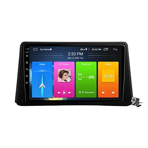 Android 10 Autoradio Player GPS Navigation für Opel Mokka 1 2012-2016 mit 9 Zoll Touchscreen Unterstützt FM RDS DSP/Stereo MP5-Player/Android Auto/Multimedia/Bluetooth,8 core,4G+WiFi: 2+32GB