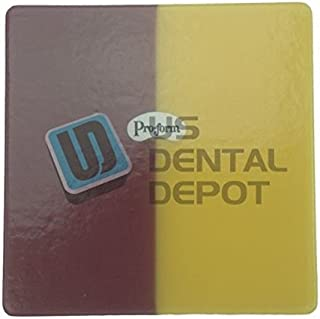 PRO-FORM - DUAL-COLOR Mouthguards Laminate Maroon/Yellow 5x5 113689 Us Depot