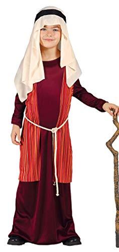 GUIRMA Disfraz de Pastor árabe judío Rojo Pesebre Viviente Infantil