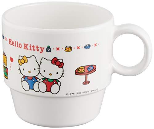 Daiwa お子様食器 ニューハロー・キティカップ (白) メラミン樹脂 日本 RKT77