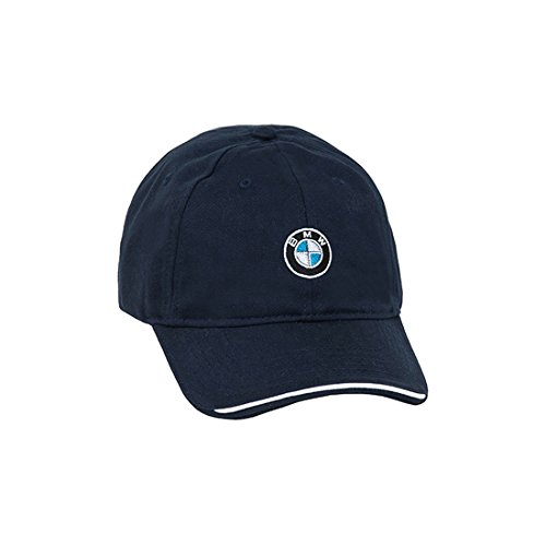 BMW Genuine Factory OEM Recycled Brushed Twill Cap - Navy - One Size Fits Most