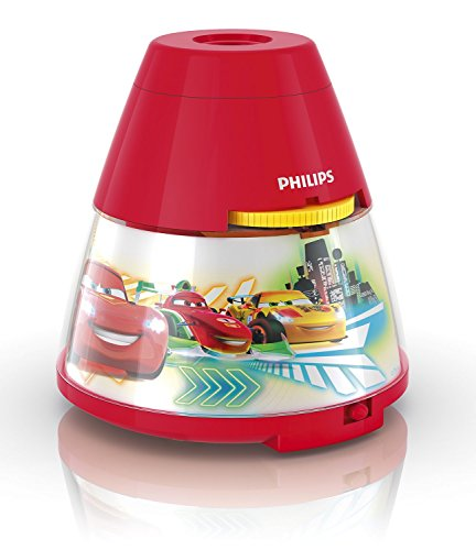 Philips Disney Cars Children's Night Light and Projector - 1 x 0.1 W...