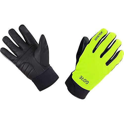 GORE WEAR C5 Thermo Handschuhe GORE-TEX, 7, Neon-Gelb/Schwarz
