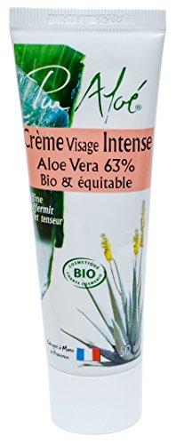Pur Aloé Crème Visage Intense, Noir, 50 ml