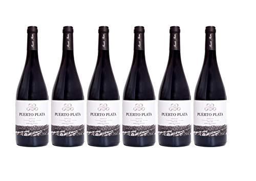 Pack 6 Botellas BODEGAS TIARA Vino tinto Puerto Plata Crianza D.O. Ribera del Guadiana