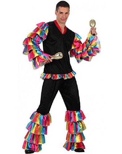 Atosa 10200 Disfraz Rumbero M-L Hombre Multicolor