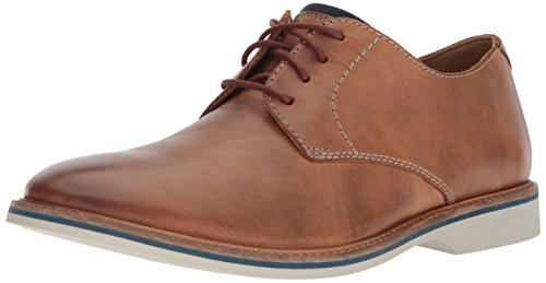 Clarks Men's Atticus Lace Oxford, Tan Leather, 11 Wide