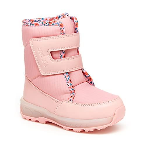 Carter's Girls Grady Light Up Snow Boots, Pink, 6 Toddler