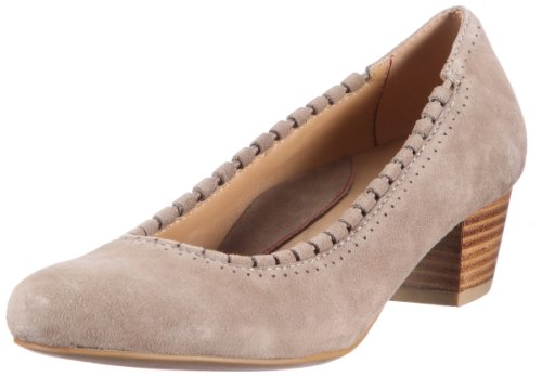 Sioux Damen Feodora Pumps, Grau (Antilope), 39.5