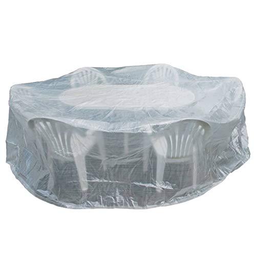 Happy People 79274 Housse pour Tables et chaises de Jardin Transparent