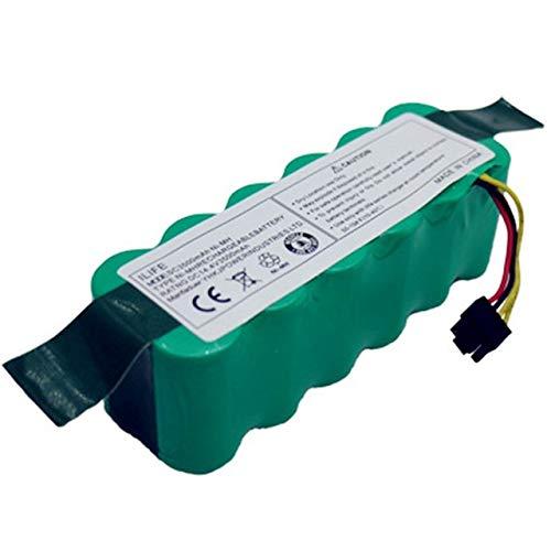 OUYBO Batteria for Kitfort KT504 Haier T322 T321 T320 T325 / Panda X500 X580 X600 / Ecovacs specchio CR120 / Dibea X500 X580 aspirapolvere robot Accessori per batterie di parti RC