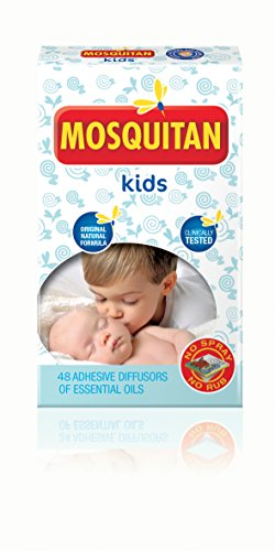 Parches de Mosquito DEET libre perfecto para niños.