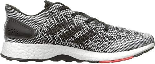 adidas Men's Pureboost DPR Running Shoe, Black/Black/White, 10.5 Medium US