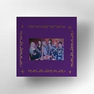 Everglow 'Reminiscence' 1st Mini Album CD+1p Poster+72p PhotoBook+2p PostCard-Calendar With 1ea Holder+1p PhotoCard+Messag...