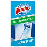 Windex Outdoor All-In-One Glass and Window Cleaner Tool Starter Kit (Packaging May vary)