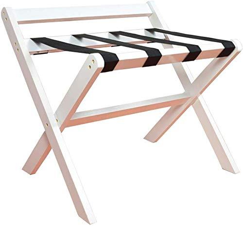 %60 OFF! QTQZDD Room Luggage Holder, Hotel Solid Wood Folding Luggage Rack, Travel Break Folding Sto...