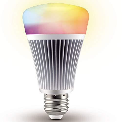 Mi.Light RGBWW Smart WiFi Led Light Bulb 8W E26 RGB+CCT Color Temperature Changeable Work with Milight RGB+CCT 4-Zone Remote and Smartphone APP Control Via Milight WiFi iBox Hub