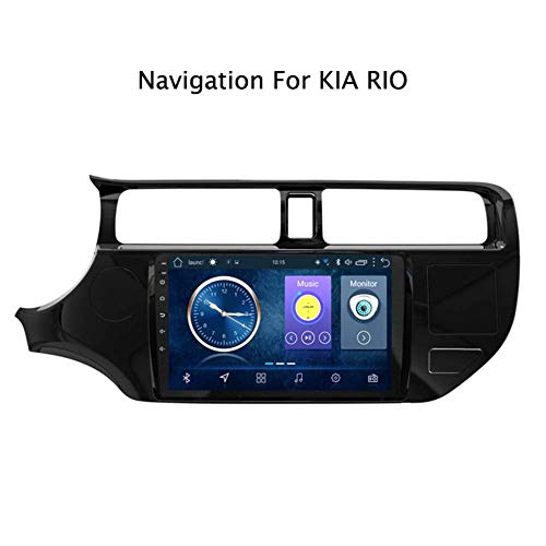 WY-CAR 9 inch Android 8.1 auto GPS navigatie DVD-speler voor Kia Rio 2012-2016 | LCD touchscreen | DVD | USB | WLAN | 4.0 Bluetooth