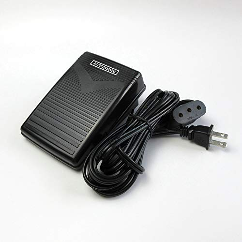 Manette de pied pour machine à coudre électronique Singer 15 66 99 201 221 301