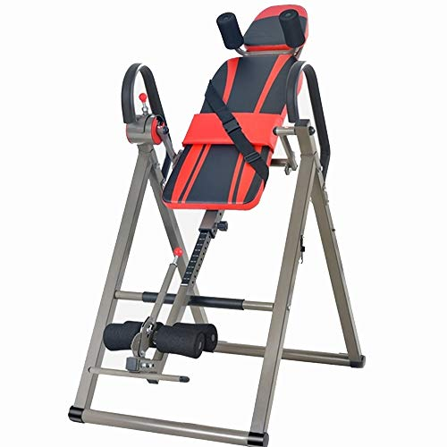 Best Price! Kindlov Inversion Table Inversion Therapy Table Chin-Up Horizontal Bar Parallel Back Str...
