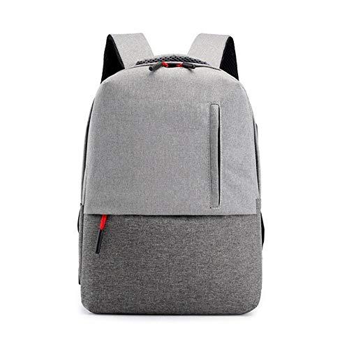 YZLYJL rugzak herenrugzakken schooltassen effen waterdichte nylon tas reistas met grote capaciteit schoolrugzakken
