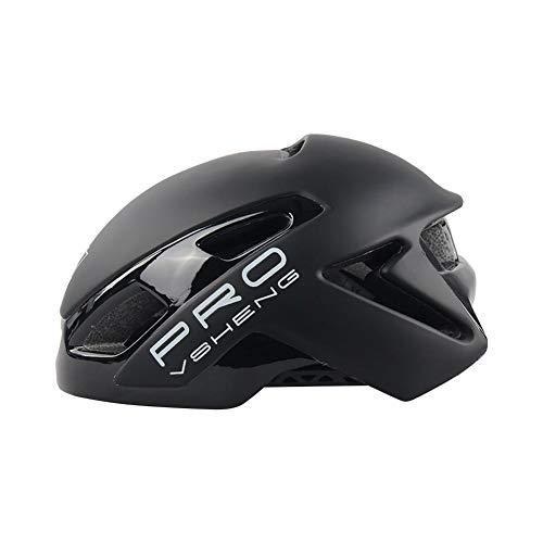 Renoble – Casco de bicicleta integrado ajustable Protección Protección Casco de Ciclismo Casco de Ciclismo Casco de Ciclismo Cómodo Ligero Casco de Bicicleta para adultos Hombres Mujeres Outdoor Sport