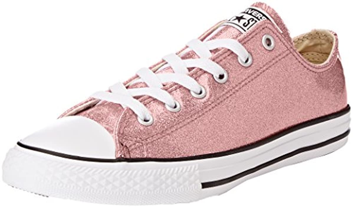 Converse Little Girls' Chuck Taylor All Star Ox Glitter Casual Sneakers