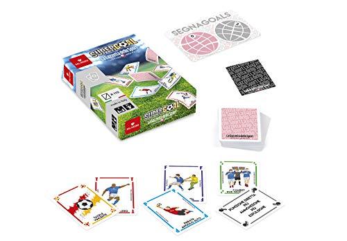 Dal Negro Supergoal La Gazzetta dello Sport Gioco Carte da Giocattolo 180, Multicolore, 8001097570805