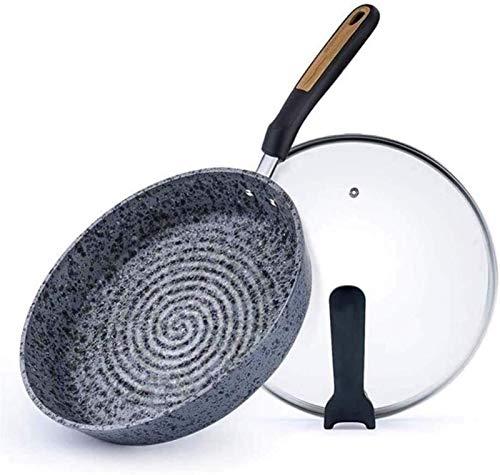 Sartenes antiadherentes Saute Saute MAIFAN PAN PANA DE PIEDRA ANTERIOR DE PIEDRA DE PIEDRA ANTERIOR/Telera de bistec/náutica no fumada/Cocina de inducción Cocina de gas Universal Cocina Hogar /