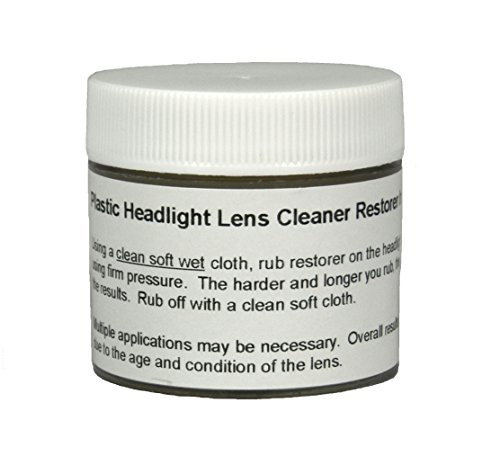 Upper Bound Plastic Headlight Lens Cleaner Restorer and Repair Polish Restores Yellowed Hazy Vehicle Headlights Removes Discoloration amp Scratches