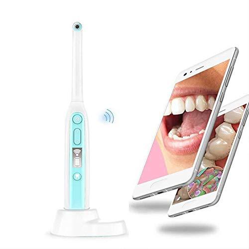 Q&N Smart Wi-Fi intraorale Endoskope Mini HD Dental Kamera Zahnarzt Oral Echtzeit-Video Zähne Werkzeuge für Family Health & Personal Care 360 ° Borescope Ansicht von Android/Ios