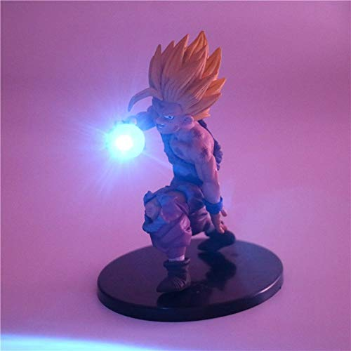 Dragon Ball Z Son Gohan Anime Led Lumière Super Saiyan Son Gohan PVC Action Figurine De Nuit Veilleuse Dragonball Z Jouets Figuras DBZ, 2