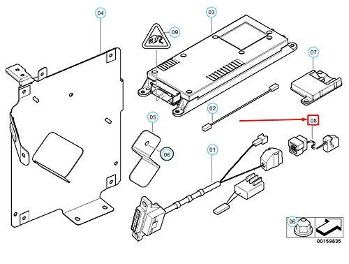 Cable adaptador para teléfono 61126911213 6911213