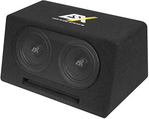 ESX DBX206Q Dual Bassreflex Subwoofer Kiste 2X 16,5 cm DBX-206Q Basskiste