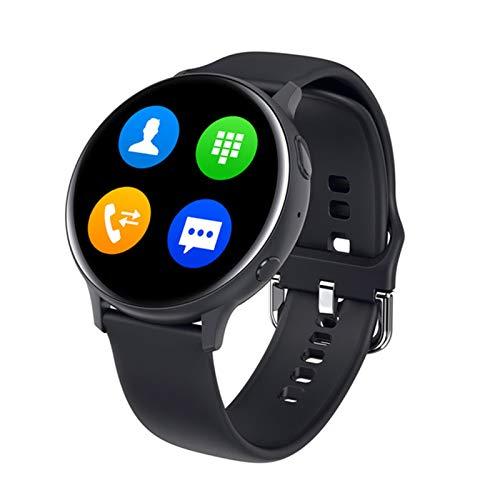 QAK El Último SG2 Touch Round Touch 390 * 390 HD ECG para Hombres Y Mujeres HD PPG HD Pantalla HD Caro Cardíaco Reloj Inteligente IP68 Dial Impermeable Descargar Música Bluetooth,A