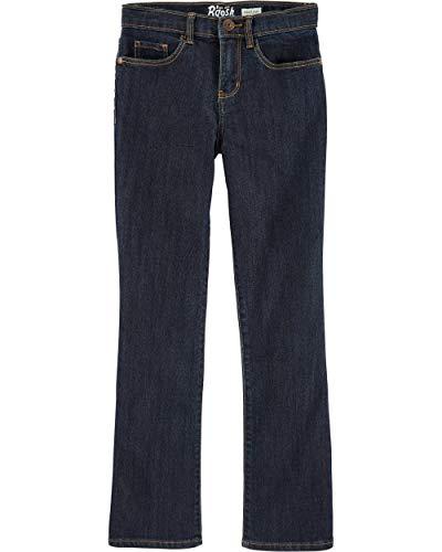 Osh Kosh Girls' Little Skinny Boot Denim, Heritage Rinse, 10R