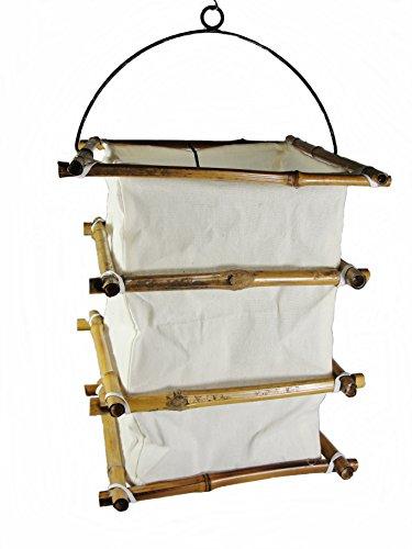 Unbekannt Deckenleuchte Bambus I Deckenlampe