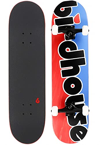 Birdhouse Komplettboards: Stage 3 Toy Logo Blue/Red 8.0