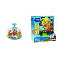 VTech 508903 Seaside Spinning Top & Baby Little Friendlies Sing Along Spinning Wheel